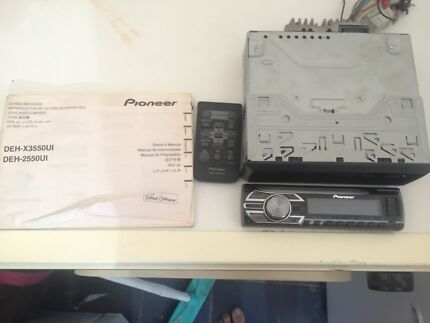 Pioneer vsx 536s stereo receiver radios receivers gumtree pioneer cd rds receiver car radio wusb connect and remote fandeluxe Gallery