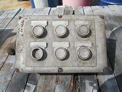 Van Norman Crankshaft Grinder Control Panel