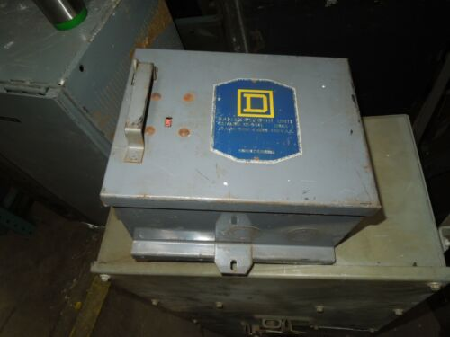 Square D Sd-9441 Round Bar Fusible Busplug 30a 3ph 4w 480v Cover Operated