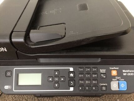 Epson WF-2630 Wireless Printer in Great Condition