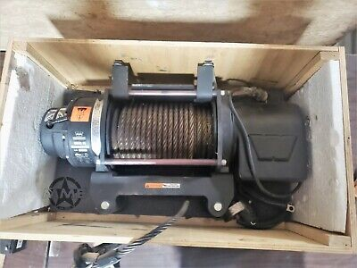 Warn SERIES 18 DC ELECTRIC WINCH, 24 V - 18,000 LB (Mounted never used) - 24v Electric Winch
