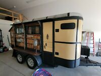 TINY HOME ON WHEELS/CAMPER/RUSTIC TRAILER