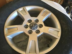 Winter Tires and Rims for Acadia