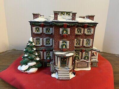 """Vintage Dept. 56 Snow Village """"Old Chelsea Mansion"""" #54903"""