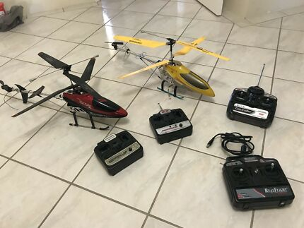 REMOTE CONTROLLED HELICOPTERS RC CHOPPERS & CONTROLLERS