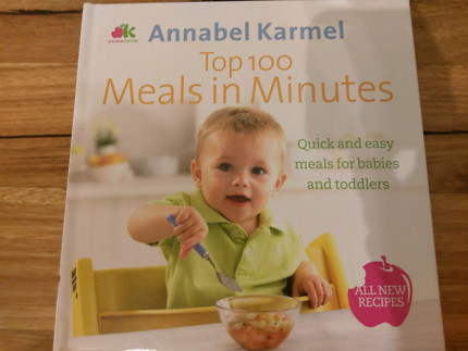 Brand new annabel karmel top 100 baby purees other baby children annabel karmel top 100 meals in minutes recipe book forumfinder Images