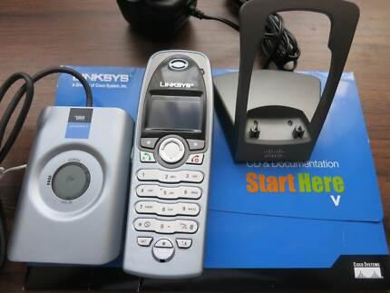 LINKSYS CIT200 CORDLESS INTERNET TELEPHON KIT FOR SKYPE South Yarra Stonnington Area Preview