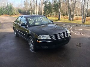 2003 Volkswagen Passat 1.8t 5 speed