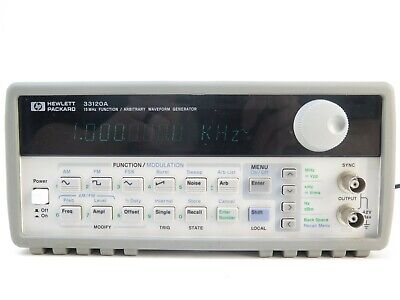 Agilent 33120a 15mhz Function Arbitrary Waveform Generator With Option 001