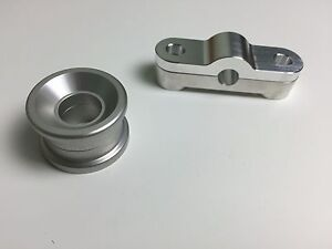 1320 Performance Solid 2 piece Front & Rear BILLET SHIFTER BUSHING COMBO B16 B18