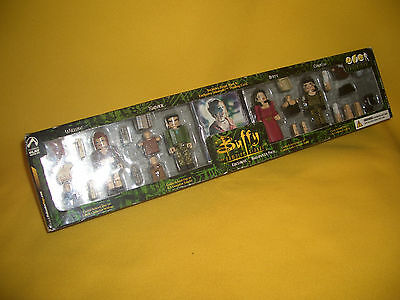 Buffy The Vampire Slayer Exclusive Halloween Pack Palz Figures Very Rare Unopend