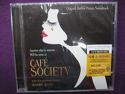 Soundtrack / CAFE Café Society OST WOODY ALLEN CD NEW SEALED