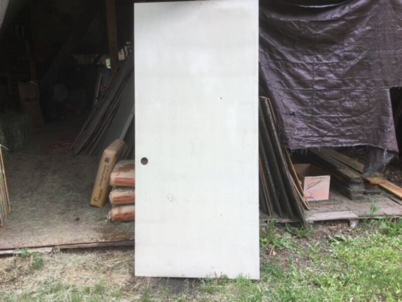 "Steel doors 36""x79"" never been used grey primer."