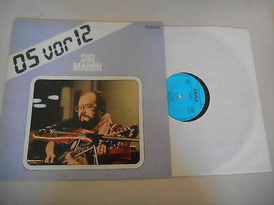 LP POP SIGI MARON 05 VOR 12 15 SONG AMIGA REC