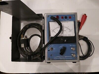 Associated Research Hypot Tester Junior Model 4045 With Leads And Cables