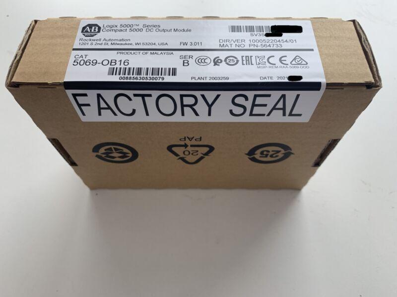 5069-OB16/B New Sealed 2021 Compact 5000 DC I/O 16-Ch 24VDC Source Output Module