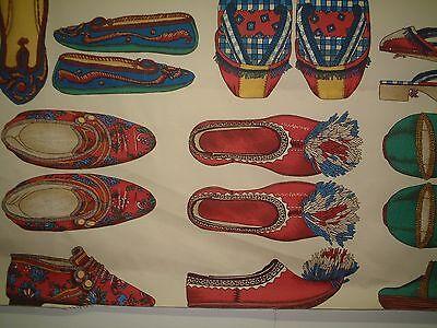 MANUEL CANOVAS FOLK FABRIC - STUNNING TEXTILE ART - SHOES