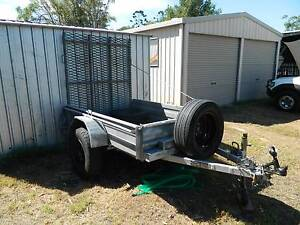 trailer with loading ramp (ride-on, mobility scooter, concreters) Torquay Fraser Coast Preview