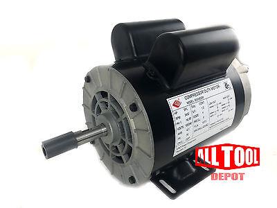 2 Hp Single Phase Spl 3450 Rpm 56 Frame 120240v 157.5amp 58 Shaft Nema Motor