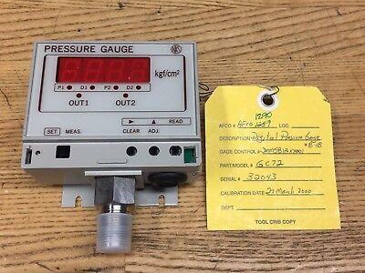Nks Digital Pressure Gauge 0-3 Kgfcm2 Missing Switch Cover