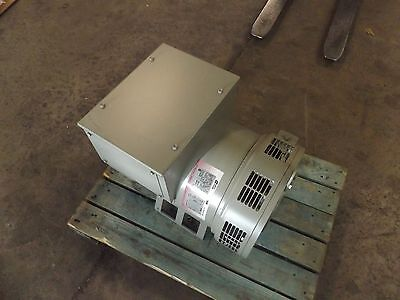 Leroy Somers Alternator 1800 Rpm 60 Hz 461v 42.2 M6 J 64 Generator Paver