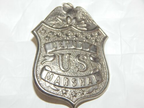 ANTIQUE 1920 s DEPUTY US MARSHAL POLICE UNITED STATES MARSHAL # 39 IN BOOK