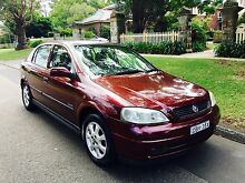2002 HOLDEN ASTRA Chatswood Willoughby Area Preview