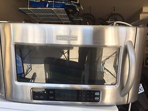 Kitchen Aid Stainless Steel Microwave / Hood