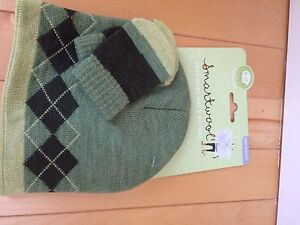 Smartwool baby hat and mitts