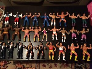 Vintage LJN Titan WWF Wrestling Superstars Huge Lot