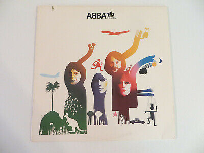 ABBA ‎– The Album - LP 1977 Atlantic - ROCK/DISCO = EX