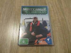 Monty Hall's Great Irish Escape - Region 4 DVD - New and sealed Ringwood Maroondah Area Preview