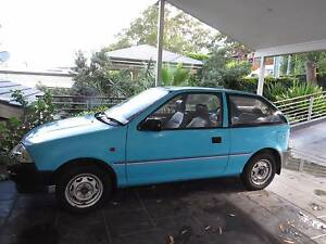 1989 Suzuki Swift Hatchback Newport Pittwater Area Preview