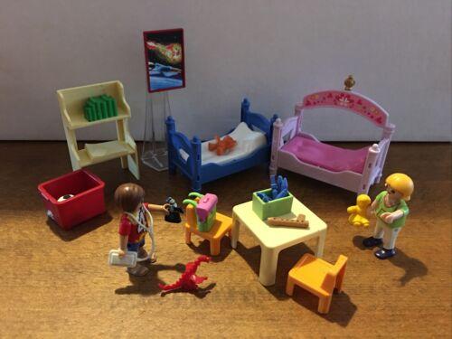 Playmobil set 5306 chambre d'enfants avec lit superposés sans boite