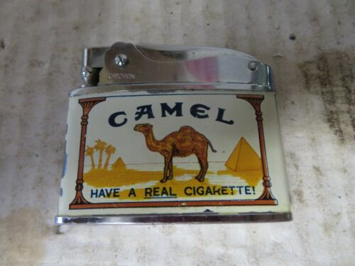Vintage Camel Lighter By Crown