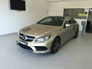 2016 Mercedes-Benz E200 Coupe AMG-pack