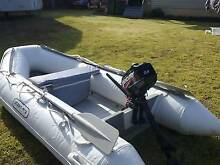 Inflatable Boat & Motor Glen Innes Glen Innes Area Preview