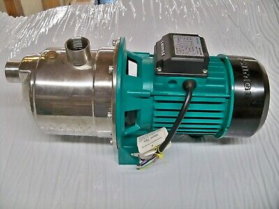 Water Pump Stainless Steel 1hp 22gpm 56psi 220v 3phase