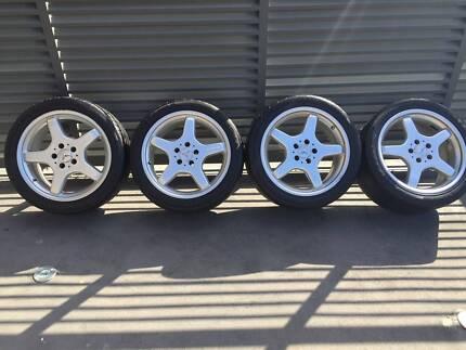 Mercedes Genuine AMG 18in Wheels Greystanes Parramatta Area Preview