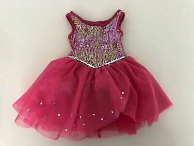 HTF American Girl doll of the year 2014 Isabelle's PINK SPARKLE DRESS