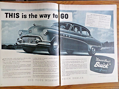 1951 Buick Eight Dynaflow Ad Take your Pick Special Super or Roadmaster