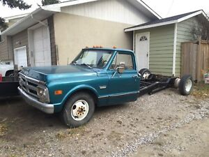 1972 Gmc cab and chassis
