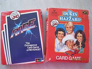 UNO CARD  GAMES   'RAGE'  AND 'THE DUKES OF HAZARD' Randwick Eastern Suburbs Preview