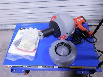Ridgid Electric Battery Drain Cleaning Machine For 34 To 2-12 Pipe K-45-5