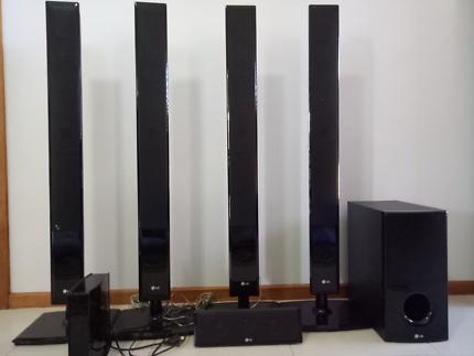 Home  Theater - LG Speaker 5.1
