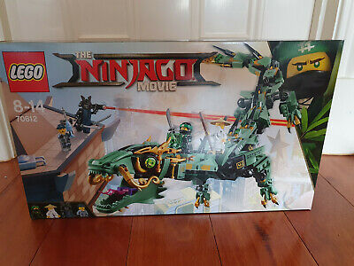 Lego 70612 Ninjago Movie Green Ninja Mech Dragon BRAND NEW
