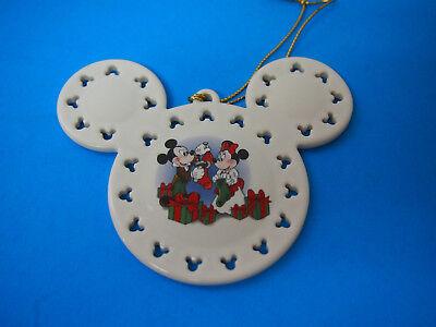 Disney Christmas Ornament Vintage Walt Disney Productions EARS