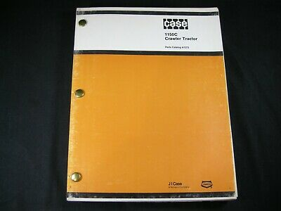 Case 1150c Crawler Bulldozer Tractor Parts Manual Catalog Book Guide A1373 Dozer