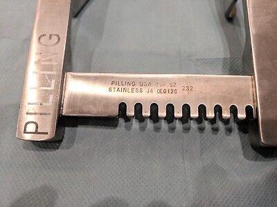 Pilling 341162 Morse Sternal Retractor Adult Spread 8