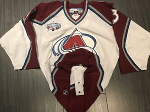 Authentic CCM Patrick Roy Colorado Avalanche Hockey Jersey